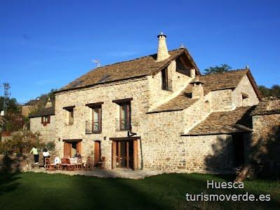 TURISMO VERDE HUESCA. Casa Pirineos de Ulle.